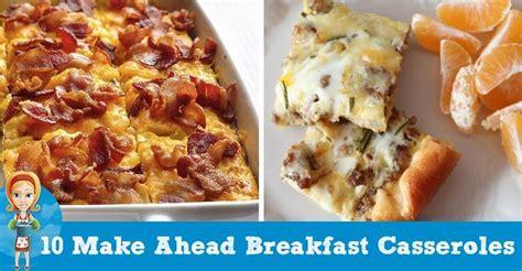 make ahead breakfast casserole recipes for a crowd christmas morning make ahead breakfast