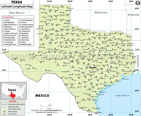 latitude and longitude map of texas 7th texas history k wilson latitude longitude map of tx