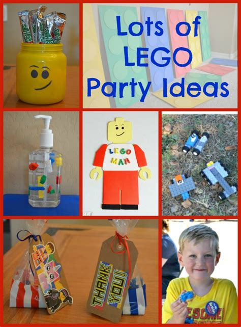 Lego Party  Ee  Ideas Ee   Lego Man Craft Shaping Up To Be A Mom