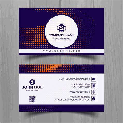 Http Www Freepik Free Vector Coffee Business Card Template 1105489 Htm by Business Card With Orange Spots Vector Free