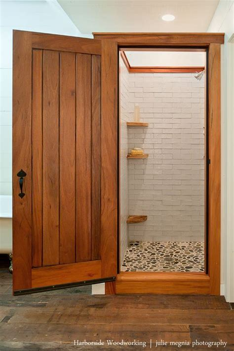 Wooden Shower Doors Pin By Elizabeth Sutton On Littlekin Pinterest