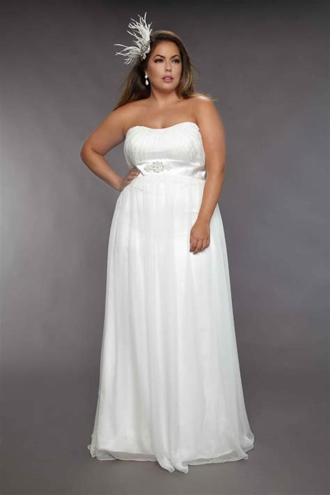 simple wedding dresses for plus size simple plus size wedding dresses img 9 voguemagz voguemagz