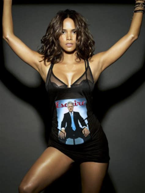 Halle Berry And Damn In Esquire Egotastic by Halle Berry Sexiest Alive Ny Daily News