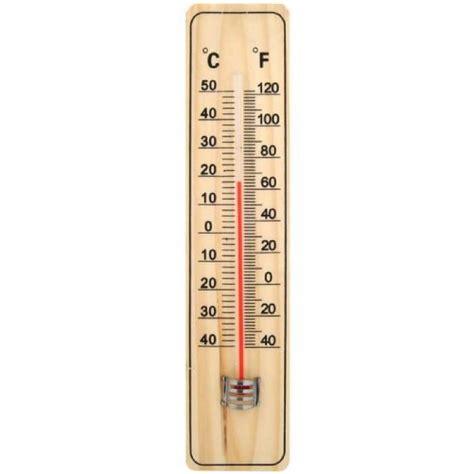 thermometre cuisine pas cher thermom 232 tre int 233 rieur ext 233 rieur en bois 22cm achat