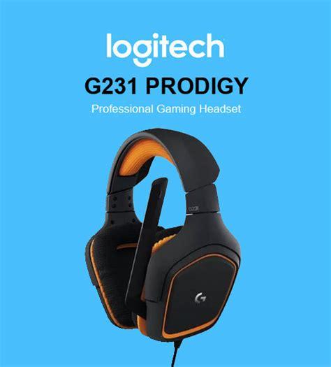 Logitech G231 Prodigy Gaming Headset Terjamin logitech g231 prodigy professional gaming headset