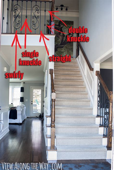 types of banisters how to install iron balusters view along the way