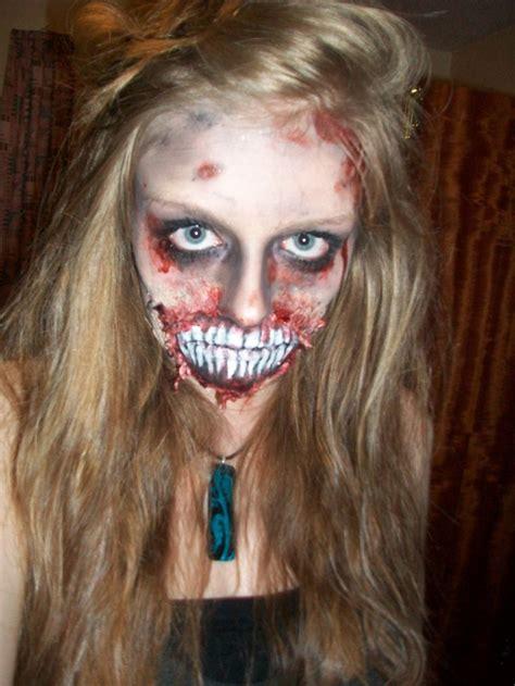 halloween makeup tutorial liquid latex halloween zombie makeup i used liquid latex tissues
