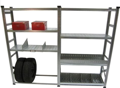 metalsistem heavy duty stater and addon shelving kit with