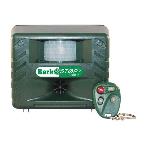 bark stopper aspectek bark stop pro ultrasonic bark deterrent and animal pest repellent with remote