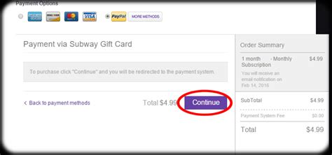 How To Check Subway Gift Card Balance - subway gift card balance number gift ftempo