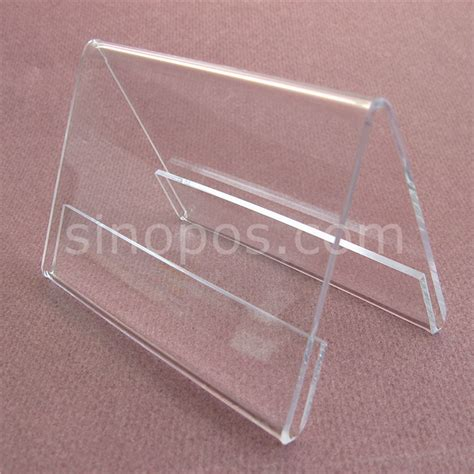 Acrylic Name Table plastic sign holders for tables custom social media