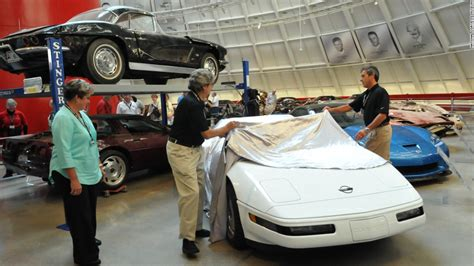 what year did corvettee out valuable 1 millionth corvette restored after sinkhole cnn