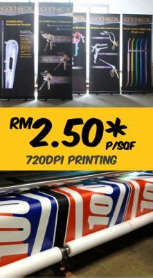 Outdoor Sticker Malaysia by Outdoor Banner Sticker Printing Kl Malaysia