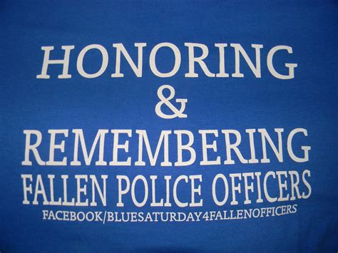 Fallen Police Officer Quotes