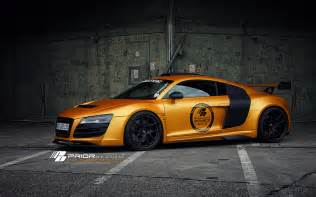 Matte Orange Audi Gallery Prior Design Audi R8 Gt850 In Matte Orange