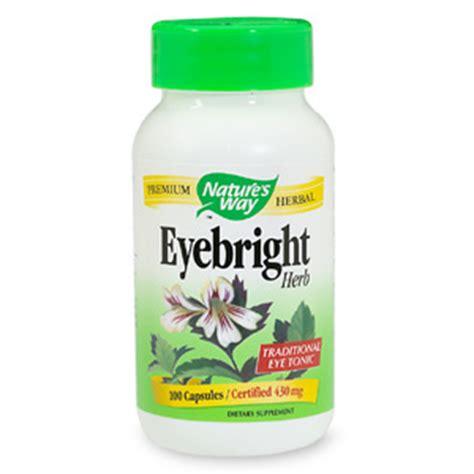 Vitamin Eye Bright Nature S Way Eyebright Herb Capsules Drugstore