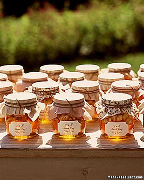things wedding favors martha stewart weddings