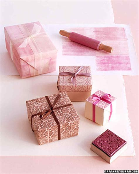 Wedding Gift Wrapping Ideas by Gift Wrapping Ideas Martha Stewart
