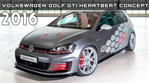 Gti 2016 Specs by 2016 Volkswagen Golf Gti Heartbeat Concept Review Rendered