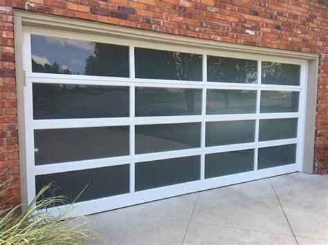 Trotter Overhead Door View Glass Modern Garage By Trotter Overhead Door Garage Home