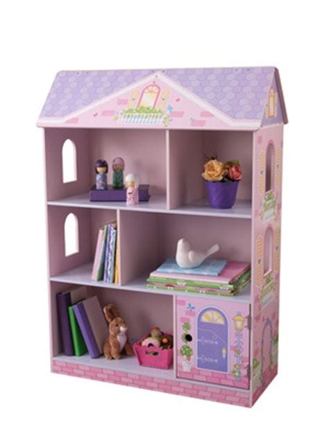 kidkraft dollhouse bookcase s room