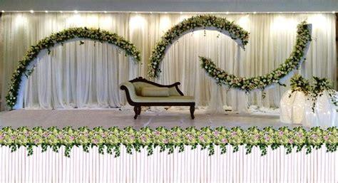 White Wedding Stage Decoration by Wedding Ideas Clean White Color Decoration Wedding Stage