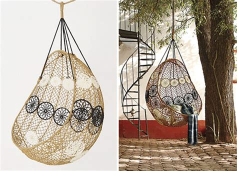 knotted melati hanging chair nice decors 187 blog archive 187 beautiful hanging chair by