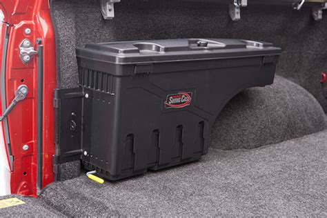 swing out tool box for trucks swing case swinging wheel well tool box swing box truck
