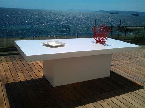 tavolo corian produzione tavoli in corian napoli