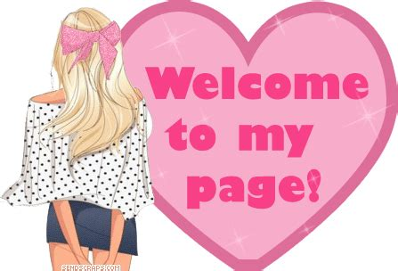 welcome to my page animation ᐅ top 55 welcome to my profile images greetings and