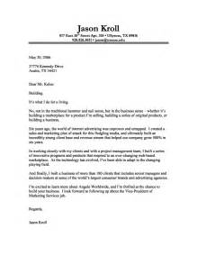 Cover Letter Templates Exles by To Make Your Own Cover Letter Templatebusinessprocess