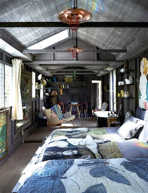 shed into bedroom an extraordinary artist s home just too good not to share