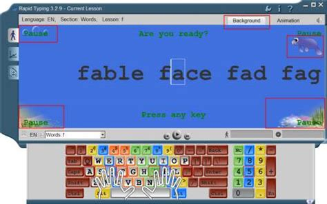 tutorial online rapid typing typing tutor release notes 3 ver