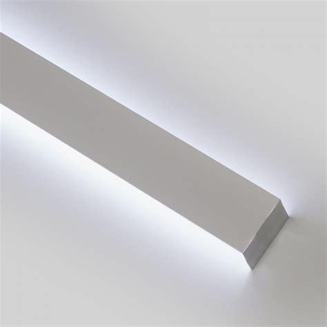 striscia led soffitto profilo a parete bidirezionale per strisce led da1 2 metri