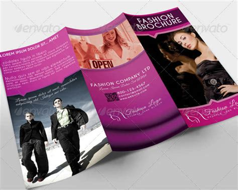 fashion brochure templates fashion brochure template bbapowers info