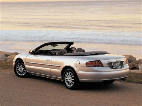 2004 chrysler convertible 2004 chrysler sebring convertible review top speed