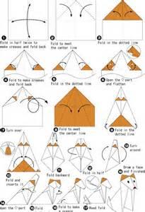 Easy Origami Tiger - easy origami tiger comot