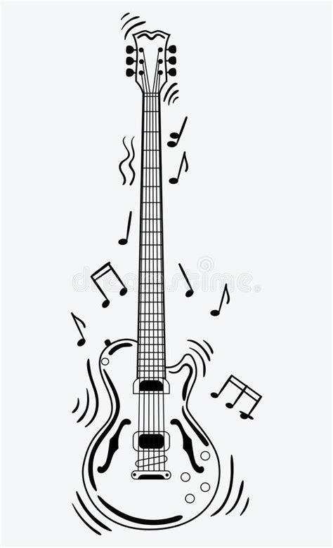 imagenes de guitarras blanco y negro la guitarra el 233 ctrica hace un sonido guitarra blanco y