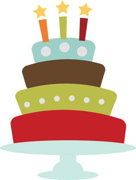torta clipart birthday cake clip 183 free vector graphic on pixabay