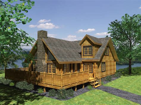 aspen log cabin plan by honest abe log homes inc