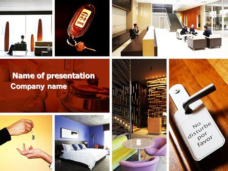 template powerpoint hotel hotel services presentation template for powerpoint and