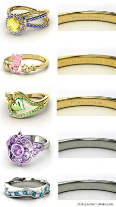 here are two more gemvara engagement rings designed by the disney zelda the triforce holders engagement rings ganondorf