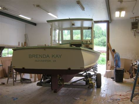 lobster boat diana brenda kay launch day hylan brown boatbuilders