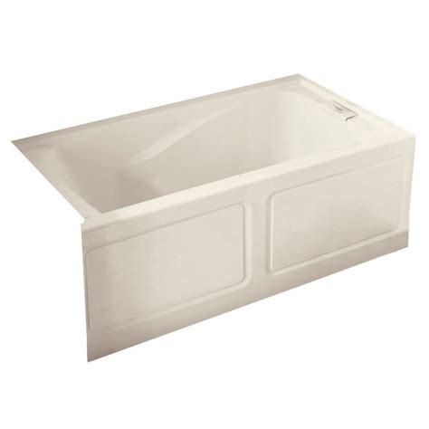 bathtub with apron american standard everclean 5 ft x 32 in right drain