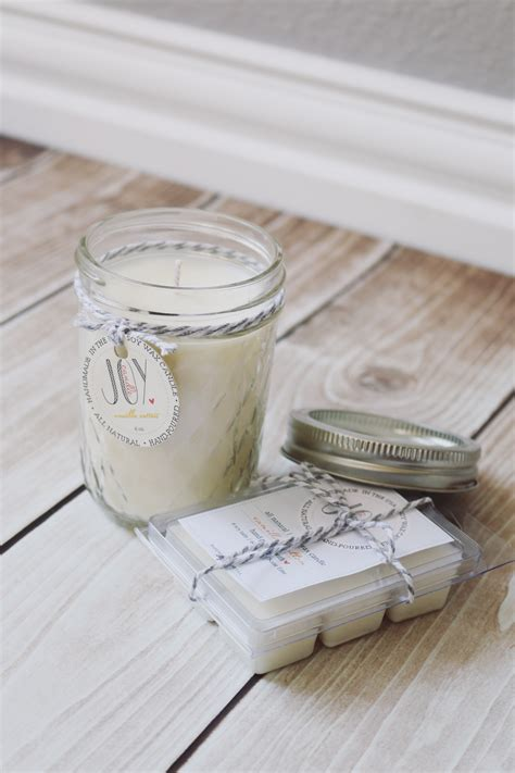 Handmade Soy Candles - diy how to make soy candles