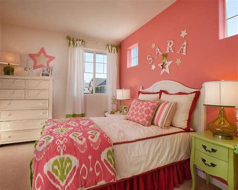 girls bedroom accent wall teenage girl s bedroom contemporary bedroom hot pink
