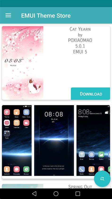 android theme store con emui theme store potete scegliere tantissimi temi per i vostri smartphone honor e huawei