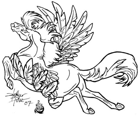 coloring pages of flying horse flying horse lineart by beautygirl1510 on deviantart