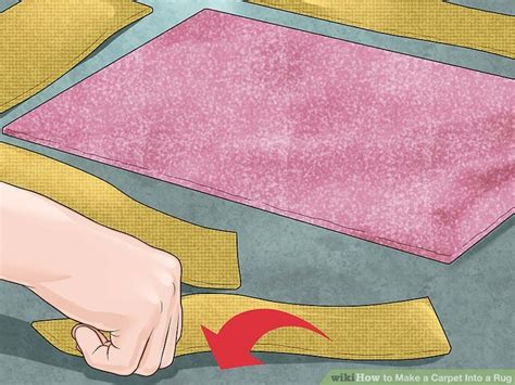 carpet cuts into rugs how to make a carpet into a rug 14 steps with pictures
