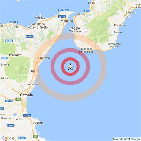 ultime notizie melito di porto salvo terremoto tra sicilia e calabria moderata scossa